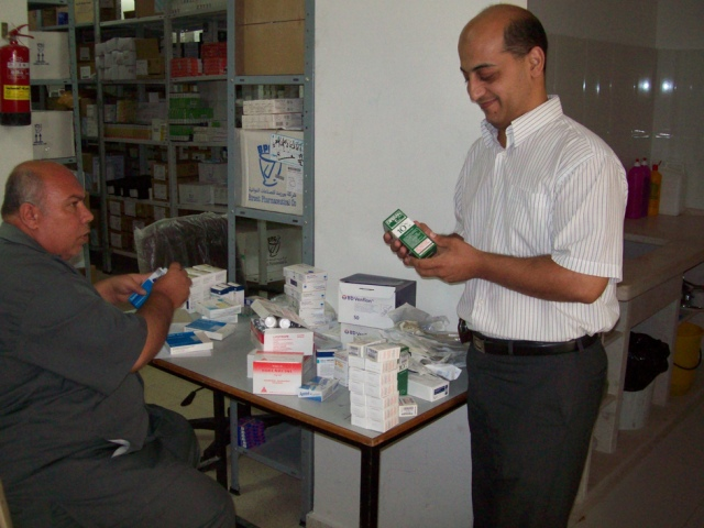 Delivering Medical Supplies to Gaza